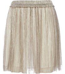 isabel marant étoile benedicte metallic fabric miniskirt