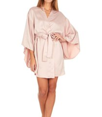 flora nikrooz collections april charmeuse kimono robe