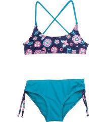 bikini azul gining fiorella
