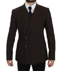 slim fit wool stretch blazer