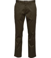 aiden slim rapid movement chino chinos byxor grön banana republic