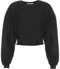 blusão avessado isabella fiorentino para oqvestir - preto