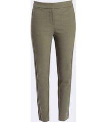 loft curvy high waist skinny crop pants