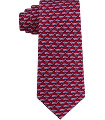 tommy hilfiger men's small whale tie