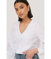 mango bebe blouse - white