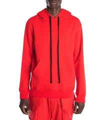 unravel drawstring hoodie