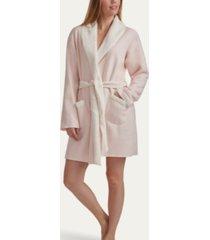 splendid women's sweater-knit faux sherpa robe, online only