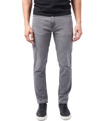 men's devil-dog dungarees athletic fit performance jeans, size 40 x 30 - black