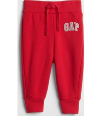 buzo jogger logo toddler boy rojo gap