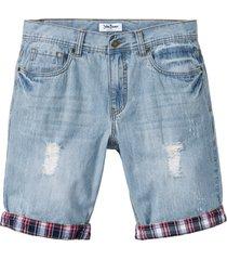 bermuda di jeans loose fit (blu) - john baner jeanswear