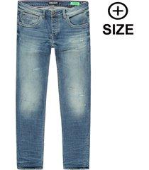 cars heren jeans plus size lengte 34 model stark stretch -