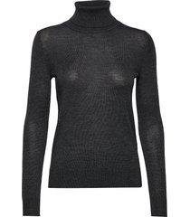 pullover ls turtleneck coltrui grijs rosemunde