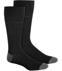 perry ellis men's logo socks