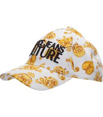 versace jeans couture leo chain baseball cap