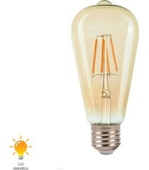 lâmpada de filamento e27 led st64 6w 2200k bivolt - 31062502 - germany - germany