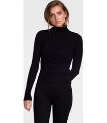 alix the label 205861740 ladies knitted fitted turtle neck top