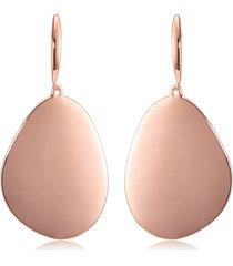 monica vinader nura teardrop cocktail earrings in rose gold at nordstrom