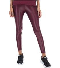 calça legging fila life new i - feminina - vinho