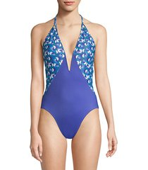 natalie printed one-piece swimsuit