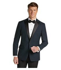 jos. a. bank slim fit check formal dinner jacket - big & tall, by jos. a. bank
