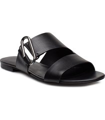 alix - flat sandal shoes summer shoes flat sandals svart 3.1 phillip lim