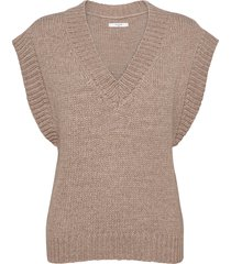 vea waistcoat vests knitted vests beige lovechild 1979