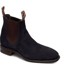 blaxland g shoes chelsea boots blå r.m. williams