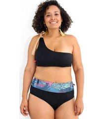 vestido de baño bikini passion for the sun para mujer - negro