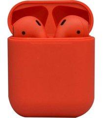 audífono rm12 bluetooth rojo lhotse