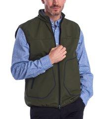 barbour men's livingstone full-zip fleece vest