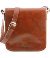 tuscany leather tl141260 tl messenger - borsa a tracolla 1 scomparto miele