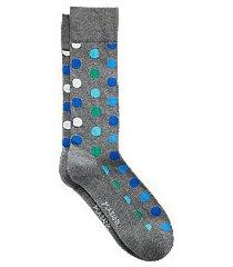 travel tech dot mid-calf socks, 1-pair