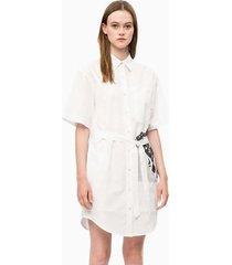 vestido regular elise blanco calvin klein