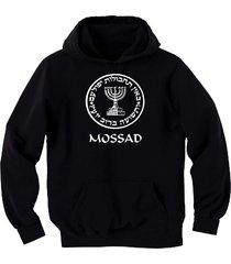israel army mossad (israeli cia) idf israeli black graphic sweatshirt hoodie