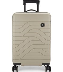 """by ulisse 21"""" expandable spinner suitcase"""