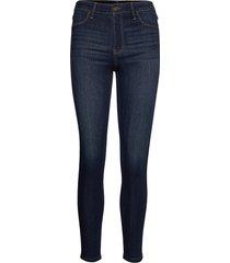 high rise jean legging skinny jeans blå hollister