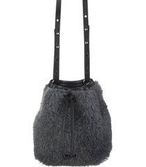 medium grey tbucke2 bucket bag