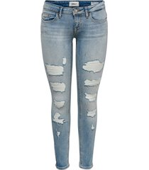 skinny jeans onlcoral low ankle destroyed