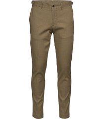 grant-cotton linen stretch casual broek vrijetijdsbroek beige j. lindeberg