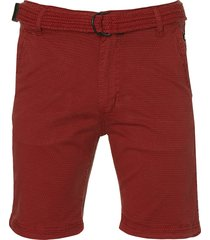 dnr short - modern fit - rood