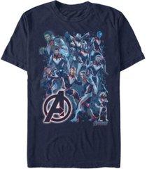 marvel men's avengers endgame avengers suit group shot short sleeve t-shirt