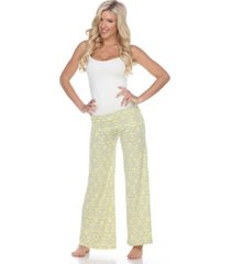 white mark summer time palazzo pants