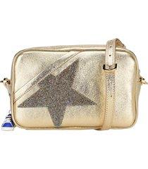 golden goose star crystal-embellished crossbody bag