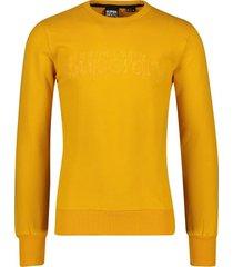 superdry sweater geel