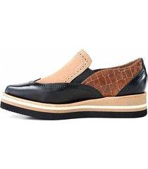 zapato negro briganti mujer juarez