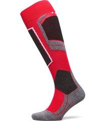 falke sk4 underwear socks regular socks röd falke sport