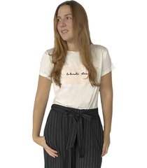 camiseta blanca para mujer x49577