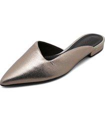 slipper gris plata loucos&santos