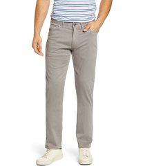 men's peter millar ultimate sateen five pocket pants, size 36 - grey