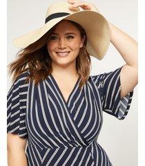 lane bryant women's floppy hat onesz palomino tan